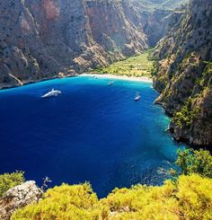 Know more about natural reserve Butterfly Valley Fethiye Turkey - one of the most attractive places and beach in the surroundings of Oludeniz Fethiye Turkey. Turkey Hotels, Turkey Places, Beautiful Places In The World, Wonderful Places, Places To Travel, Places To See, Visit Turkey, Hidden Places, All Nature