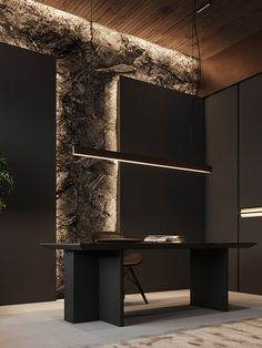 Law Office Design, Modern Office Design, Office Interior Design, Office Interiors, Modern House Design, Flat Interior, Appartement Design, Luxury Office, Forest House