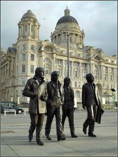 The Beatles Statue was unveiled on 4 December 2015 at Liverpool's waterfront Pier Head.  This iconic monument to the Fab Four is amazing.