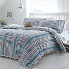 Buy Seasalt Deckchair Stripe Bedding Online at johnlewis.com