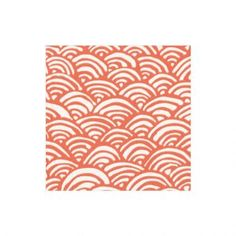 Lulu's Rainbow Paper Cocktail Napkins in Coral For Your Bohemian Table