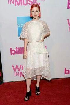 Billboard Triblazer award for Hayley
