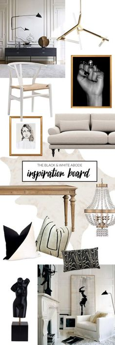 Black and White Home Inspiration from Havenly's Head of Design, Shelby!