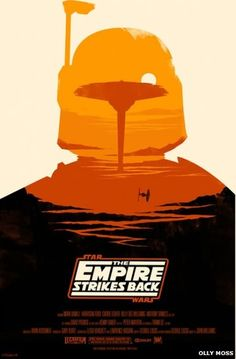 Olly Moss's alternative Empire Strikes Back