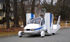 The Car-Plane for the One Percent Unfurls its Wings at New York International Auto Show 2012