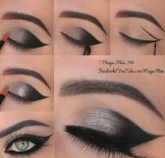 Eyeliner med vinge