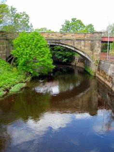 A bridge in Glasgow, Scotland.