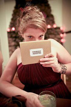 DIY Wedding Favors: Recipe Books