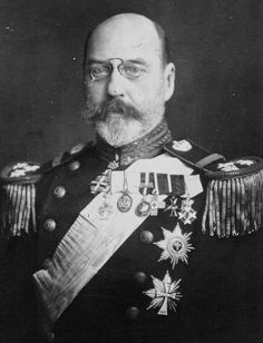 Prince Valdemar of Denmark (1858 – 1939) member of the Danish Royal Family, the youngest son of Christian IX of Denmark. He married Princess Marie d'Orleans. The wedding was believed to have been politically arranged  in France by the Count of Paris (the bride's uncle). He had a lifelong naval career, but things could have been much different for the prince. He was offered two European thrones, those of Bulgaria & Norway, but declined them due to international pressures.