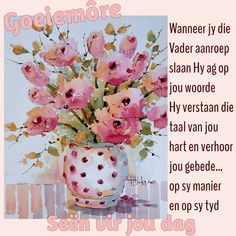 Morning Prayers, Good Morning Wishes, Good Morning Quotes, Prayer Quotes, Faith Quotes, Bible Quotes, Lekker Dag, Birthday Wishes For Kids, Quotes For Whatsapp