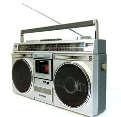 1980s Old School SANYO Boombox Ghettoblaster by joevintage on Etsy, $200.00