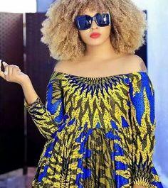 NiceTrendy Ankara Styles For Weddings 2019 African Maxi Dresses, Latest African Fashion Dresses, African Print Fashion, African Attire, African Wear, African Women, African Style, Ankara Wedding Styles, Trendy Ankara Styles