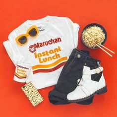 Dear ramen cups, you fueled my college years & I'll forever be thankful🍜 Teenage Outfits, Teen Fashion Outfits, Outfits For Teens, Fall Outfits, Summer Outfits, Beach Outfits, Fashion Blogs, Summer Clothes, Fashion Fashion