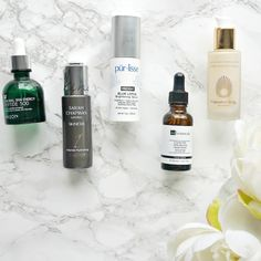 Serums currently on heavy rotation featuring Dr Botanicals, Omorovicza, Mizon & more!