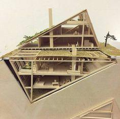Impressive Architecture Model For You – Design and Decor Modern Architecture Design, Architecture Portfolio, Futuristic Architecture, School Architecture, Sustainable Architecture, Modern House Design, Interior Architecture, Amazing Architecture, Landscape Architecture