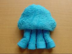 penguin,jellyfish,turtle made of wet towel - YouTube