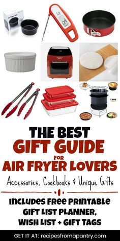 The Air Fryer is a must-have for anyone looking to cook up healthier versions of beloved fried foods. And this Air Fryer. Christmas Food Gifts, Homemade Christmas Gifts, Christmas Recipes, Cool Gifts, Best Gifts, Unique Gifts, Air Fryer Dinner Recipes, Homemade Food Gifts, Best Air Fryers
