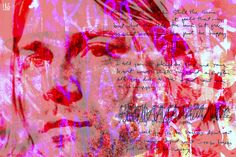 Cobain, 2016: Digital painting/photo collage, 90 x 60 cm. Follow the link to buy the hand signed original/unika or print in variable sizes on paper or canvas. http://www.saatchiart.com/art/Painting-COBAIN/863412/2949043/view