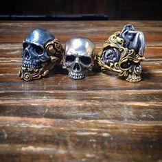 Noli Dante and Daweed. Waiting for a custom from Samury #personalrings#skullring…