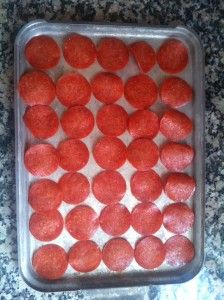 Pepperoni Chips - Low Carb Fun