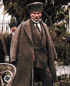 He is the founder of Modern Turkey Republic and its first president. Lived between Military and statesman. I chose some of his… Ataturk Quotes, Turkish Army, Media Quotes, Universe Quotes, Guys Be Like, The Republic, Iron Age, Photo Cards, Suit Jacket