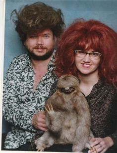 I think the worst part of all of this is my intense jealousy that they've got a sloth.  But seriously, wtf?