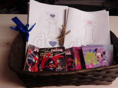 Kids Coloring Book for Wedding - Made for under $5 - I already had Paper and ink. I bought the Ribbon and Twine from the Dollar Tree. Crayons come with three boxes from Dollar Tree.