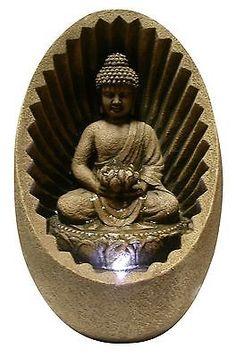 Indoor Fountains 20569: Alpine Win322 Buddha Tabletop Fountain With Led Light No Tax -> BUY IT NOW ONLY: $59.97 on eBay!