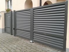 Gate House, Railing Design, Metal Garden Gates, Entrance Gates Design, Entrance Gates Driveway, Steel Door Design, Front Gate Design, Sliding Gate, Main Gate Design