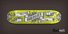 Rad Skateboard Designs by Alex Kurchin Skateboard Deck Art, Skateboard Design, Deck Design, Shape Design, Typography Logo, Typography Design, Lettering, Snowboard Design, Typo Design