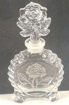 Rose Perfume Bottle