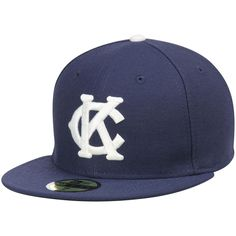 Men s Kansas City Monarchs New Era Royal Turn Back the Clock 59FIFTY Fitted  Hat c5d94e775286