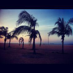 Aterro da Praia de Iracema em Fortaleza - CE.
