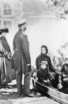 "Emperor Alexander II of Russia, his family and his setter ""Milord"". 1864. #Russian #history #Romanov"