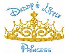 Mommy's Little Princess Fill Machine by HippityHopEmbroidery