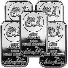 SilverTowne Logo 1oz .999 Fine Silver Bar LOT OF 5 via https://www.bittopper.com/item/silvertowne-logo-1oz-999-fine-silver-bar-lot-of-5/