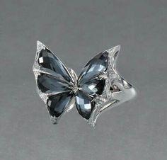Mariposa anillo