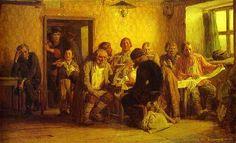 Vasnetsov, Victor (1848-1926) - 1874 Tea-Drinking in a Tavern | Flickr - Photo Sharing!