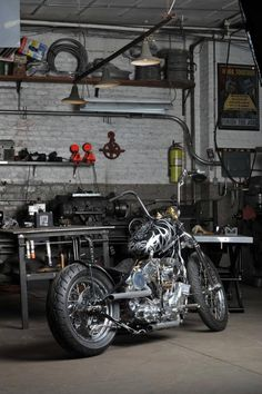 Question Everything. Indian Larry Motorcycle.