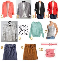 Putting Me Together blog    How to mix and match your wardrobe :)