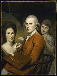 File:Charles Wilson Peale - Self-Portrait with Angelica and Portrait of Rachel - Google Art Project.jpg