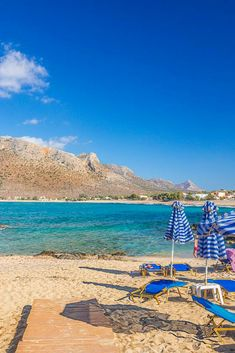 Swim in the family-friendly sandy of Stavros in Akrotiri, Chania, and enjoy your in sunny Crete! Crete Holiday, Seaside Village, Enjoying The Sun, Sandy Beaches, Crete Chania, Greek Islands, Sand Island, Luxury Travel, Trip Planning