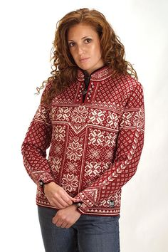 Dale of Norway Peace Sweater (Redrose)
