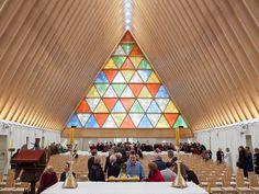 坂茂建築設計 | Shigeru Ban Architects, cardboard Cathedral, Christchurch, NZ