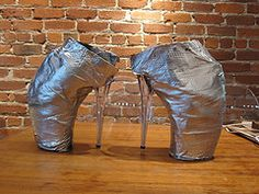 Even with duct tape - still makes my head hurt!  now i want to make my own mcqueen armadillos!!! - h