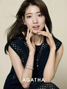 Park shin hye become the Brand embaseder of Agatha Paris.