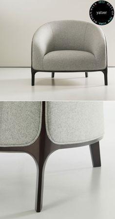 Catherine armchairbyNoé Duchaufour-LawranceforBernhardt Design.