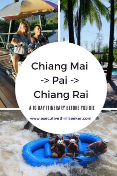 Ever wondered what it'd be like to visit Northern Thailand in high season?  Maybe you're on a tight schedule and can only squeeze out 10-14 days for your next vacation?  Whether you're on a budget or you're trying to splurge on your next trip, this itinerary will work for you! #Thailand #ChiangMai #Pai #ChiangRai