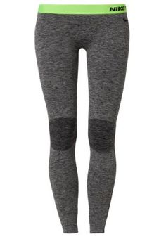 PRO HYPERWARM - Leggings - black, lime green, grey
