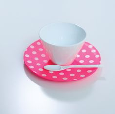 New Cubism Dot Cup & Saucer